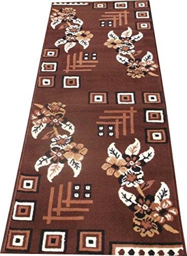 FCARPET MOST PREFER DESIGN 60x170 CM(2x5.6 FEET) Cofee Brown