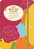 Orange Circle Studio 2014 Do It All 17-Month Planner, Bold Blossoms (31512)