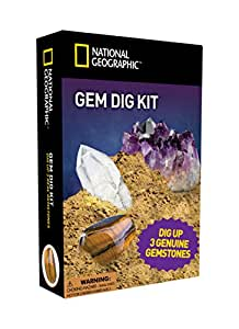 National Geographic Gemstone Dig Kit By National Geographic