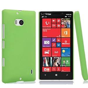EnGive 2014 New Quicksand Hard Matte Skin Case for Verzion Nokia Lumia 929 Icon (Green)