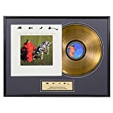 "Rush ""Signals"" limited edition framed gold record"