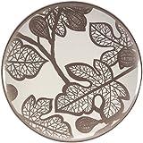 Creative Converting 501488 Madhouse Melamine Dinner Plate, Fig Leaf