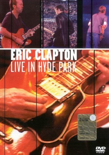 DVD : Eric Clapton - Live in Hyde Park (DVD)
