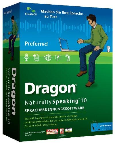 Dragon NaturallySpeaking Preferred 10.0 - German (PC)
