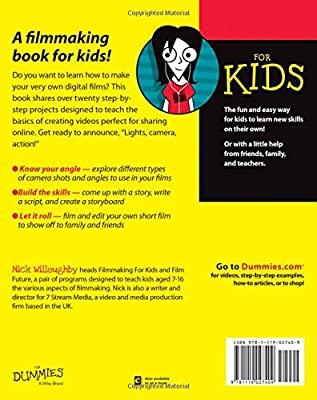 Digital Filmmaking For Kids For Dummies