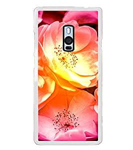 ifasho Flowers Back Case Cover for OnePlus 2