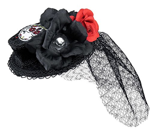 Day of the Dead Mini Coffin Hat