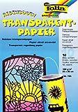 Gütermann / KnorrPrandell 8265852 - Folia carpeta transparente arco iris de papel [Importado de Alemania]