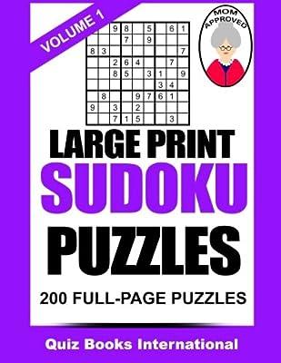Large Print Sudoku Volume 1