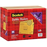 "Scotch 3M Bubble Mailers Size 5 (10 1/2 "" x 15"") - 25ct"