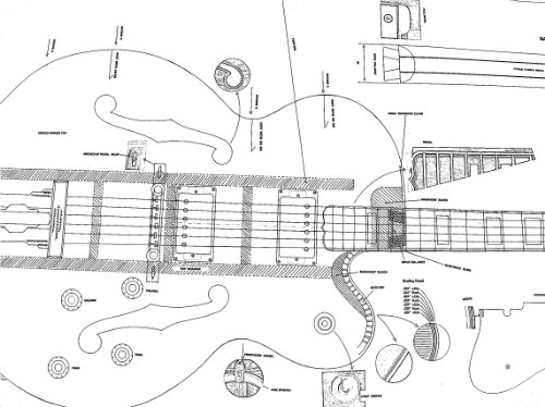 11 gibson electric guitar plans