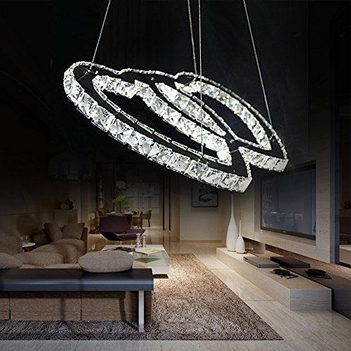 1w contemporaneo cristallo led cromo metallo lampadari camera da letto sala da pranzo - Lampadario camera da letto prezzo ...