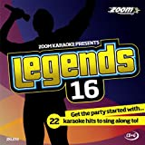 Zoom Karaoke Zoom Karaoke CD+G - Legends Volume 16 - Bob Dylan/Donovan/Simon & Garfunkel/Cat Stevens [Card Wallet]
