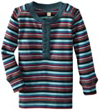 Tea Collection Baby-Boys Infant Long Sleeve Stripe Henley
