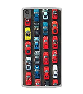 Cars 2D Hard Polycarbonate Designer Back Case Cover for OnePlus X :: One Plus X :: One+X