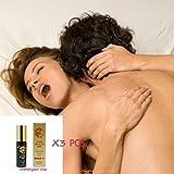 3X Make love so long By OFG Spray Desensitizing For Men Spray Delay Premature Ejaculation Prolong Sex (Pack of 3 Pcs) (Color: Biege116, Tamaño: DrHemp-117)