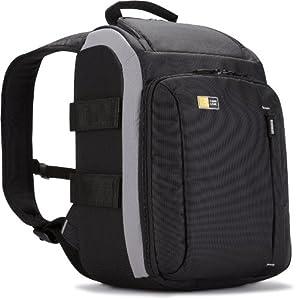 Case Logic TBC307K SLR Backpack Kamerarucksack inkl. Hammock System & Stativhalterung (für Spiegelreflex) schwarz/grau