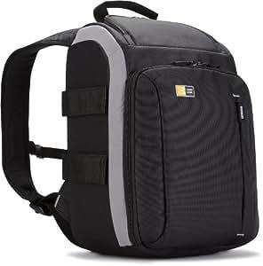 Case Logic TBC307K - Mochila de nailon para cámara de fotos réflex y accesorios, color negro y gris