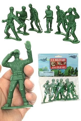 Toysmith U.S Military Playset