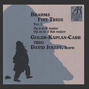 Brahms/Klaviertrios-Vol.1
