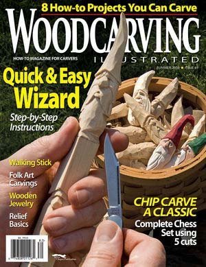 Woodcarving Illustrated Magazine - Summer 2008, Issue 43