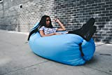 'Cloudeo' - The Portable, Inflatable, Air Lounger. Designed for outdoor hangouts and includes original lay out drawstring bag.