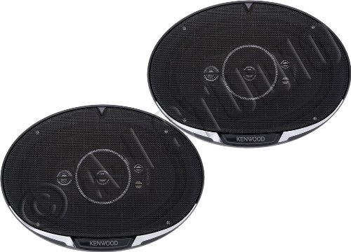 "Kenwood Kfc-6995Ps 6""X9"" Performance Series 5-Way Flush Mount Coaxial Car Speakers"