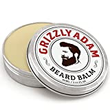 Grizzly Adam Beard Balm For Men - 100% Natural Leave In Conditioner with Natural Oils for Best Moustache Grooming and Beard Growing