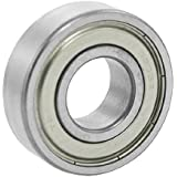 6203Z Deep Groove Double Metal Shields Metric Ball Bearing 17 x 40 x 12mm