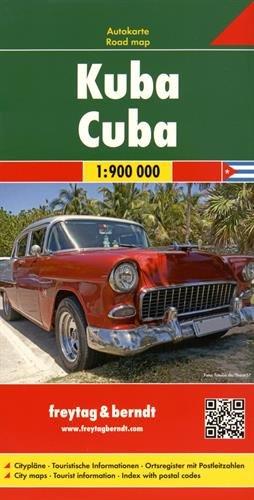 Cuba, mapa de carreteras. Escala 1:900.000. Freytag & Berndt. (Auto karte)