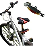 Voberry® High Quality 7 LED Bicycle Bike Turn Signal Directional Brake Light Lamp Sound Horn