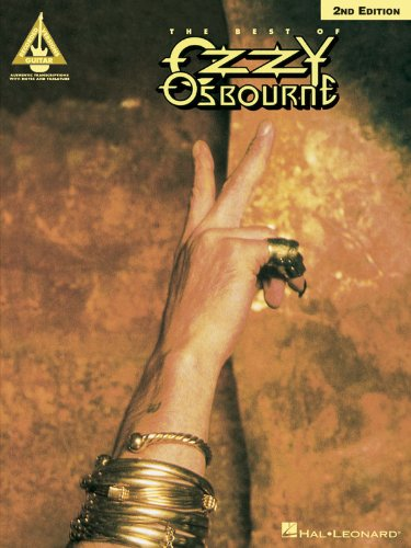 The Best of Ozzy Osbourne - 2nd Edition - Guitar Recorded Version From Hal Leonard
