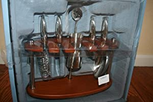 Michael Graves Design™ Stainless Steel Bar Accessory Set
