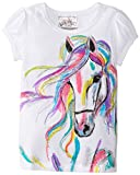Beautees Girls 2-6X Horse Screen T-Shirt