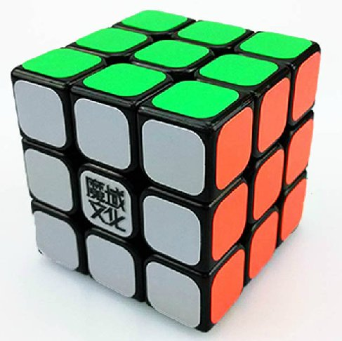 MoYu YJ Aolong 3 x 3 x 3 Black Speed Cube Puzzle - 1