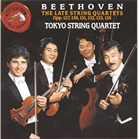 String Quartet, No. 13 in B-Flat, Op. 130: Presto