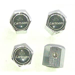 Mercedes Benz Carlsson Anti-theft Car Wheel Tire Valve Stem Caps