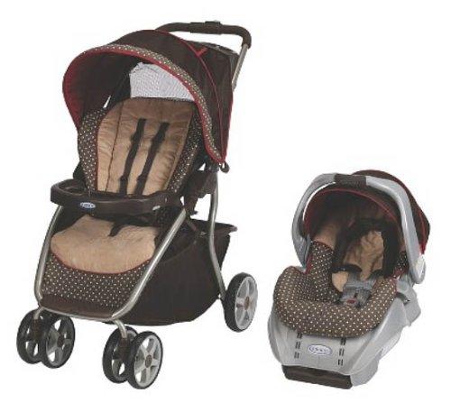 Graco Dynamo Lite Ride Baby Travel System Starburst