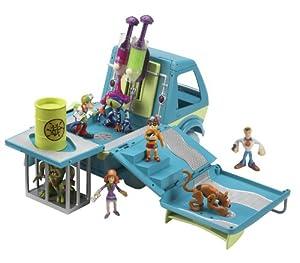 Scooby  Doo - Véhicule Deluxe - Mystery Van et baril de Gel