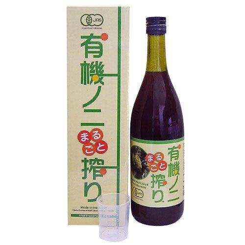 ノニジュース 天然搾汁100% 無農薬、無肥料 インドネシア産 750ml