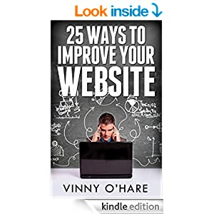 25 ways to improve your website book cover