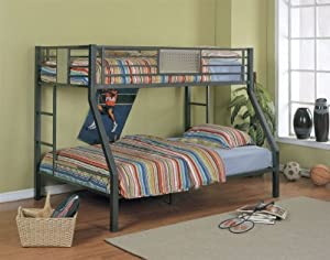 Powell Monster Bedroom® Twin/Full Bunk Bed by Powell