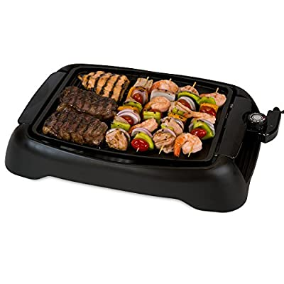 Smart Planet SIG1 Indoor Smokeless BBQ Grill, Black from Smart Planet