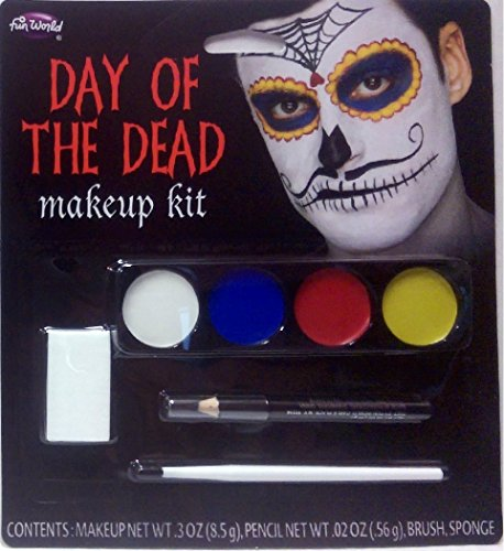 Day o (Day Of Dead Makeup Kit)