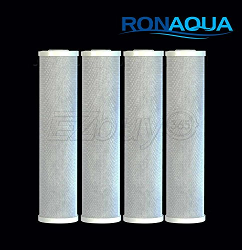 4pcs Big Blue CTO Carbon Block Water Filters 4.5