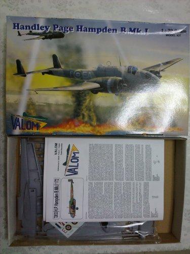 new valom Handley Page Hampden B.Mk.I 1/72
