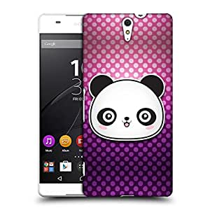 Snoogg Cute panda Designer Protective Back Case Cover For Sony Xperia C5 Ultra