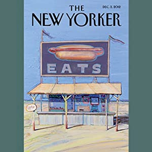 The New Yorker, December 3rd 2012 (Dana Goodyear, Daniyal Mueenuddin, Peter Schjeldahl) | [Dana Goodyear, Daniyal Mueenuddin, Peter Schjeldahl]