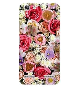 Beautiful Flowers 3D Hard Polycarbonate Designer Back Case Cover for Lenovo Vibe K5 Plus :: Lenovo Vibe K5 Plus A6020a46 :: Lenovo Vibe K5 Plus Lemon 3