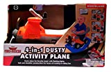 Disney Plane Dusty Fire & Rescue 4 n 1 Toddler Activity Ride On Toy